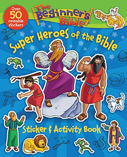 BEGIN BIB STKR ACTY BIB HRO SC BEGIN BIB (The Beginner's Bible)