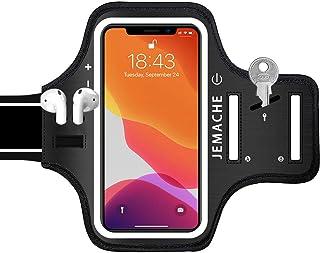 جراب هاتف iPhone 12 Pro Max، 11 Pro Max مزود بحامل AirPods ، جراب JEMACHE مقاوم للماء لصالة الألعاب الرياضية للجري وممارسة...