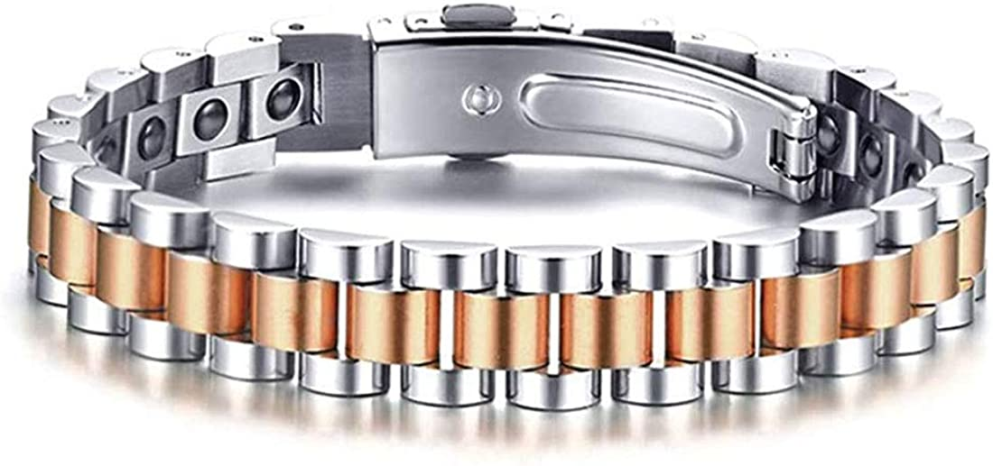 Challenge the lowest price Rockyu Magnetic Bracelets for Couples Women Arthritis Brand new an Men