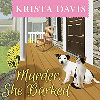 Murder, She Barked     Paws & Claws Mystery, Book 1              By:                                                                                                                                 Krista Davis                               Narrated by:                                                                                                                                 Jeanie Kanaley                      Length: 9 hrs and 38 mins     414 ratings     Overall 4.2