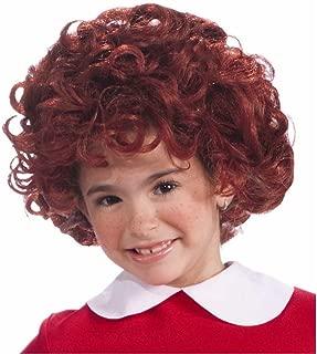 Annie Wig Costume Accessory Red