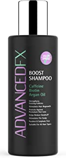 Caffeine and Biotin Shampoo: Volume Boost for Thinning Hair Protect Against Hair Loss – Sulphate and Paraben-free – 150 ml