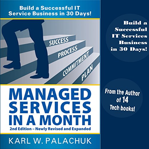 Managed Services in a Month audiobook cover art