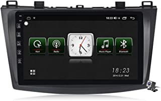 Android 10.0 Car Stereo GPS, Radio for Mazda 3 2010-2012 Navigation 9 Inch Head Unit MP5 Multimedia Player Video Receiver ...