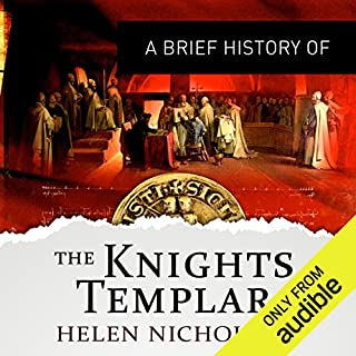A Brief History of the Knights Templar audiobook cover art