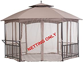 Sunjoy Accessory Replament Mosquito Netting for Gazebo Item D-GZ076PST-D
