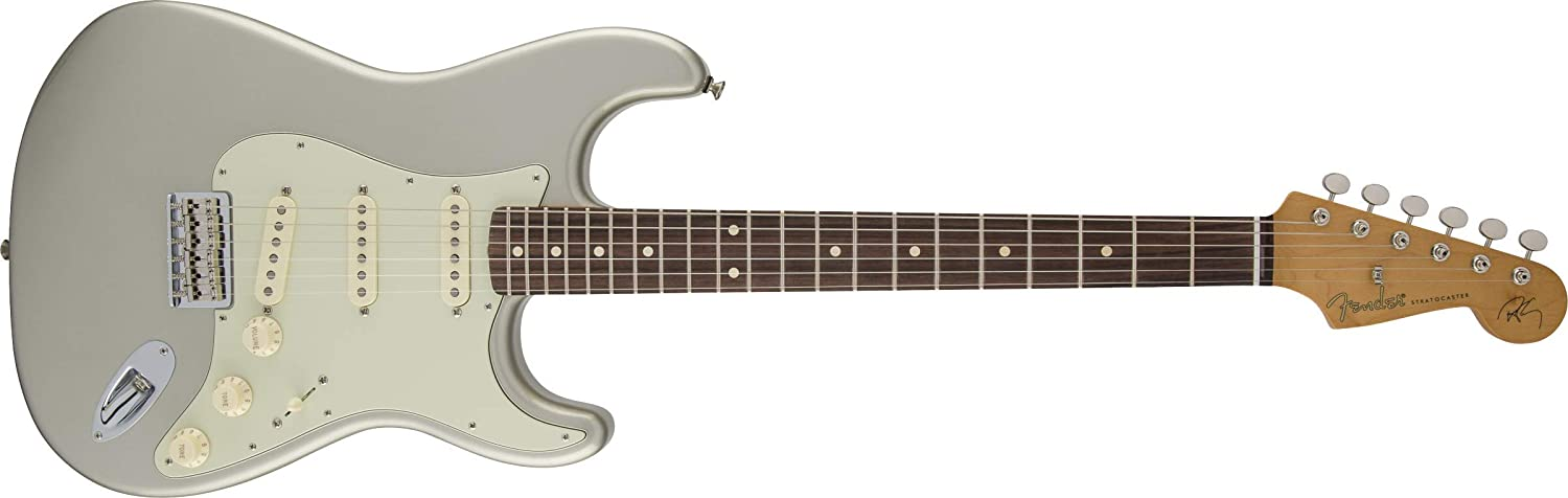 Fender Robert Japan's largest assortment New sales Cray Stratocaster Electric Silver Ro Guitar Inca