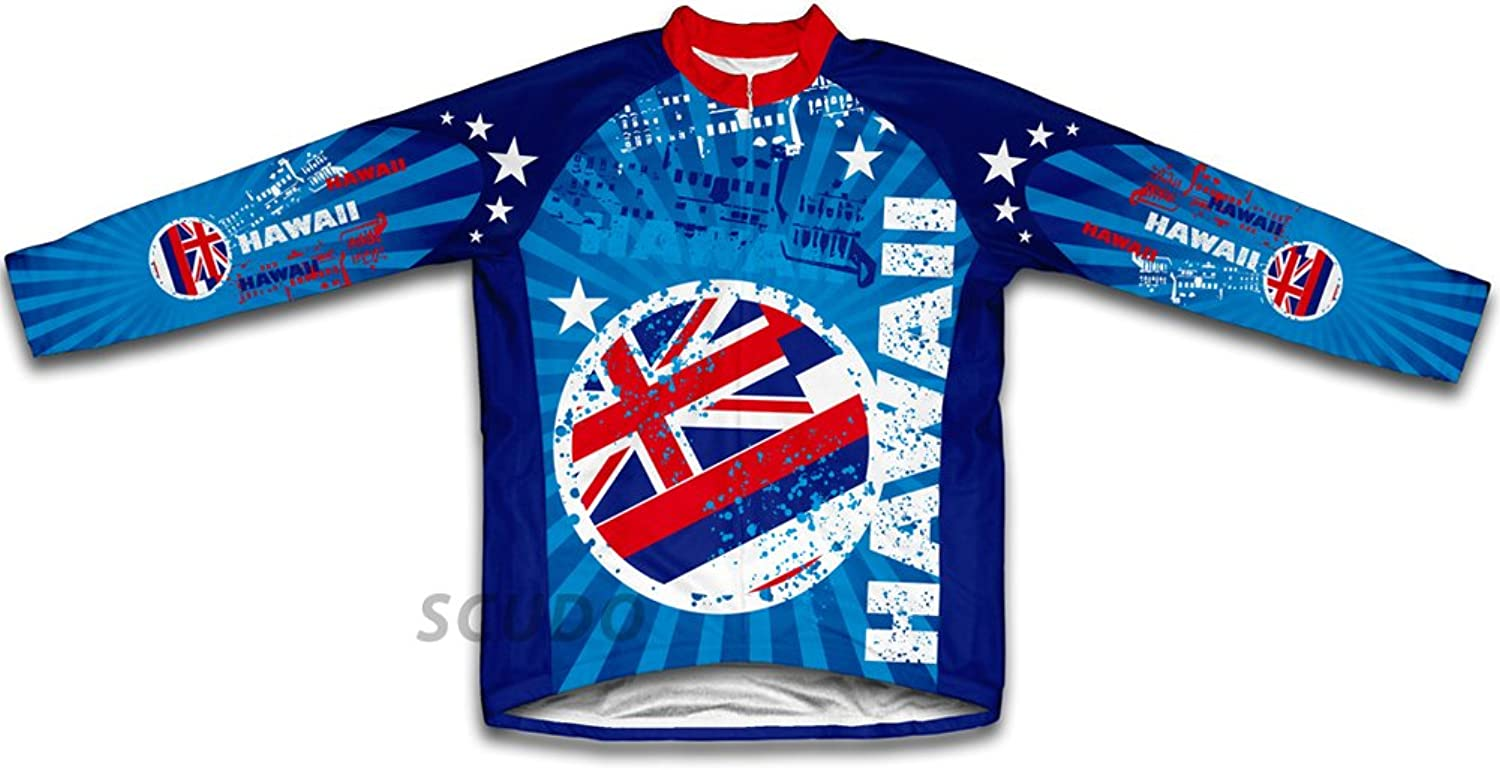 Hawaii Winter Thermal Cycling Jersey for Women
