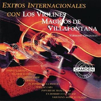 Exitos Internacionales Con Los Violines Magicos De Villafontana - Versiones Originales