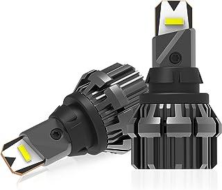 Bestview 912 921 LED Backup Reversing Light Bulbs, 6000k ,5600 Lumens ,No Polarity, Error-Free, for Cars, Trucks, RVs Repl...