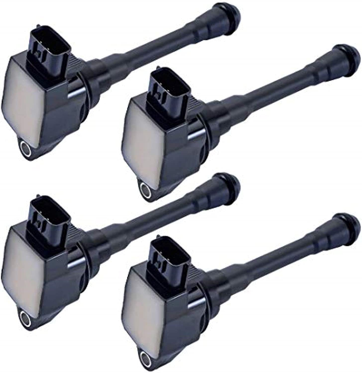 MCK 4pcs Direct stock discount Ignition Coil Pack Compatible store Nissan With Infiniti QX70