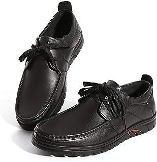Zfl-flsnxx Men's Sandals, الترفيه غرزة القيادة متعطل للرجال الأحذية الكلاسيكية الأعمال التخطيطي الأعمال أكسفورد الانزلاق ع...