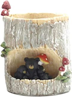 Little Nursery Rhyme Hedgehog Classroom Brown Bear Family Flowerpot(A2)
