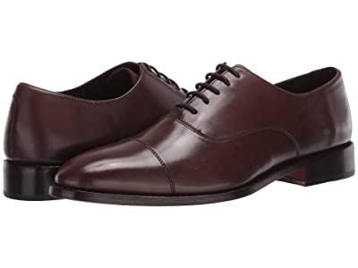 Anthony Veer Clinton Cap Toe Oxford (Chocolate Brown) Men