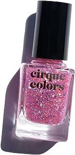 Cirque Colors Glitter Nail Polish - 0.37 fl. oz. (11 ml) - Vegan, Cruelty-Free, Non-Toxic Formula (Crystal Tokyo)