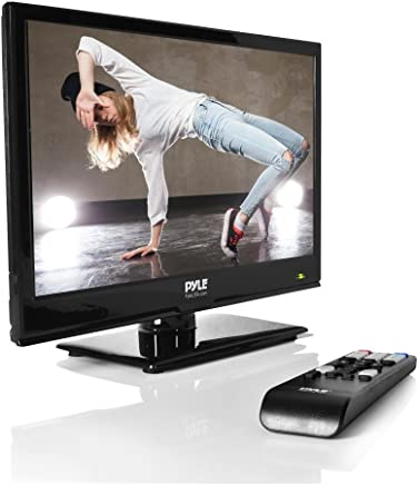 $94 Get Pyle 15.6-Inch 1080p LED TV | Ultra HD TV | LED Hi Res Widescreen Monitor with HDMI Cable RCA Input | LED TV Monitor | Audio Streaming | Mac PC | Stereo Speakers | HD TV Wall Mount (PTVLED15)