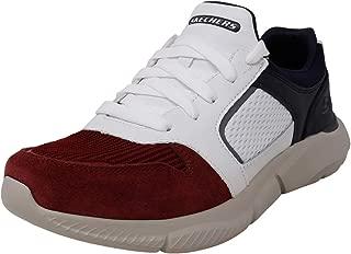 Skechers Men's Ingram Moton Fashion Sneakers Red/White