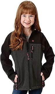 Roper Girls' Grey Contrast Softshell Jacket - 03-298-0780-7107 Gy