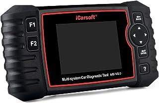 iCarsoft Professional Multi-System Auto Diagnóstico Tool MB V2.0 Compatível com Mercedes-Benz/Simpressor/Smart, ABS SRS Oi...