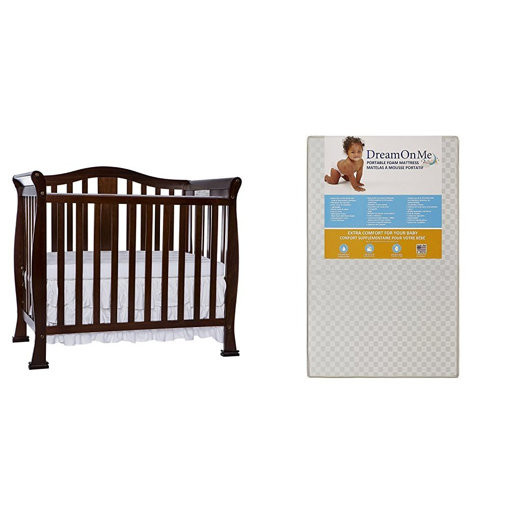 Regular store Dream On Me excellence Naples 4 in with Convertible M Mini Crib 1