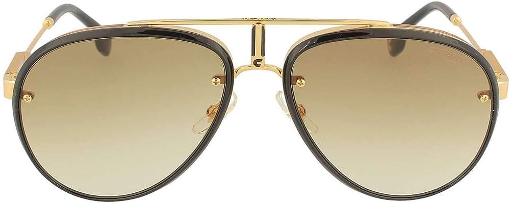 Carrera, occhiali da sole unisex, montatura in metallo e acetato, lenti  marrone verdi antiriflesso CARRERA GLORY