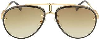 Glory Aviator Sunglasses, Blk Gold, 58 mm