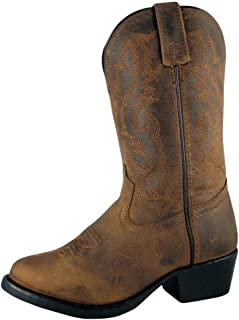 Smoky Mountain Boots Kids Denver Leather 9.5W