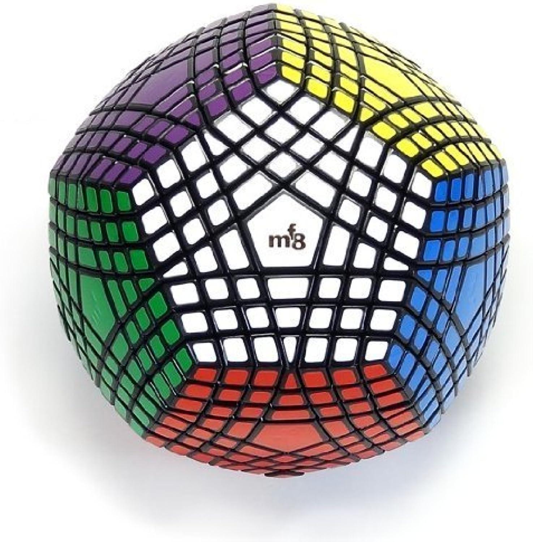 tienda de venta EasyJuego Magic Cube7x7 Cube7x7 Cube7x7 Liso Megaminx Speed Cube Dodecahedron Puzzle Negro, etiqueta fue terminado.  grandes ofertas