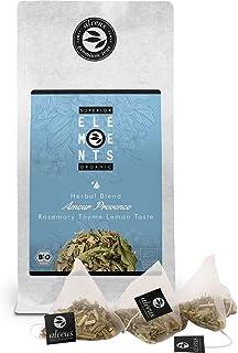 alveus® Superior Organic Elements (Amour Provence, Infusión de Hierbas Orgánico, Romero Tomillo y Limón, Bolsa con 15 Bolsitas Piramidales)