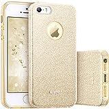 ESR Coque pour iPhone SE/5s/5, Coque Silicone Paillette Strass Brillante Glitter de,...