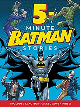 Batman Classic: 5-Minute Batman Stories 0062357980 Book Cover