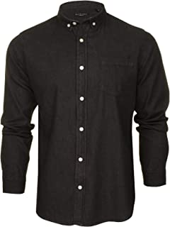 Brave Soul Mens Denim Shirt 'Felonie' - Long Sleeved