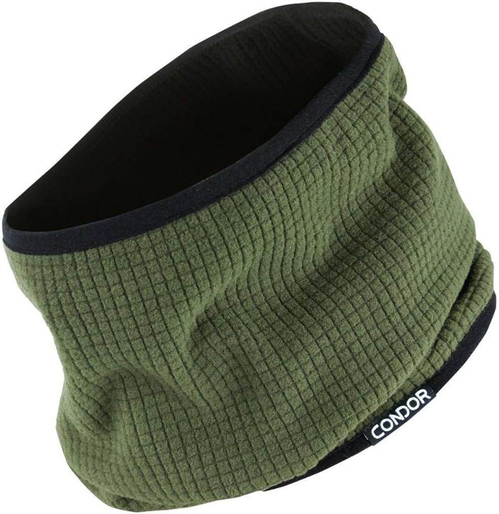 Condor Reversible Neck Gaiter, Neck Cover Warmer, Fleece Face Mask