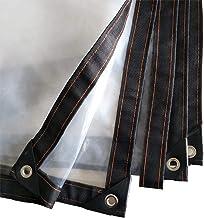 NEVY dekzeil, transparant, polyethyleen kunststof, waterdicht, isolatiefolie, stofdicht, vloerbedekking, lichtgewicht, dek...