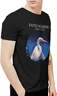 PeterF Men's Faith No More Angel Dust T Shirt Black