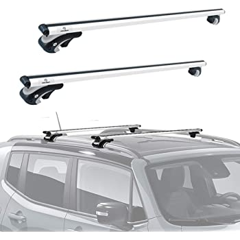 Amazon Com Cargoloc 2 Piece 60 Aluminum Roof Top Cross Bar Set