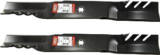 "Oregon 598-629 Gator G5 21-3/16"" Mulching Blades Replaces MTD Cub Cadet 942-0616.."
