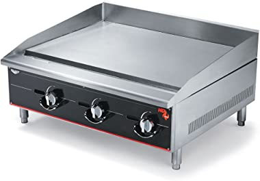 "Vollrath (936GGM) 36"" Heavy-Duty Flat Top Griddle - Cayenne Series"