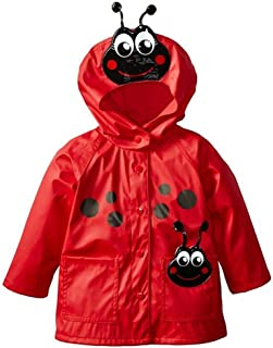 Wennikids Baby Girls Boys Raincoat Windbreaker Hooded Bomber Outerwear Clothes Jacket
