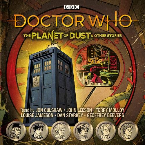 Doctor Who: The Planet of Dust & Other Stories cover art