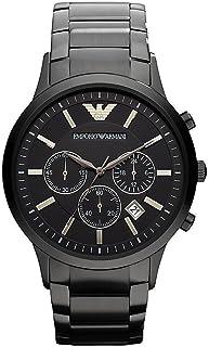 ساعة رسمية بعرض انالوج وسوار من الستانلس ستيل للرجال من امبوريو ارماني - AR2453