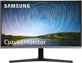 "Samsung 27"" FHD Curved Monitor with Bezel-Less Design, 27, LC27R500FHEXXY"