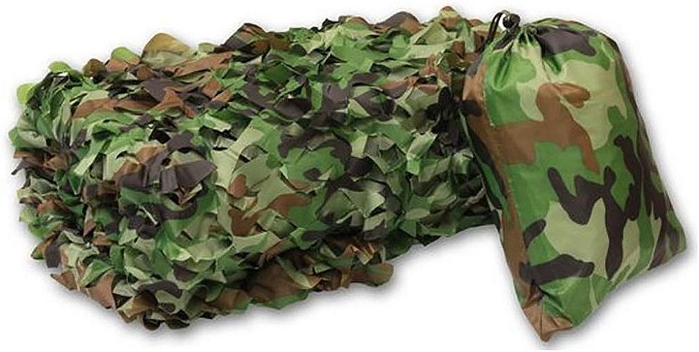 Filet Camo Visière Extérieure GR Mode Montagne Camouflage Net Tente de Camping en Plein air Décoration de Jardin Simulation CS Camouflage Net Multi-Taille en Option (Taille  4  6m) Armée Camo Filet