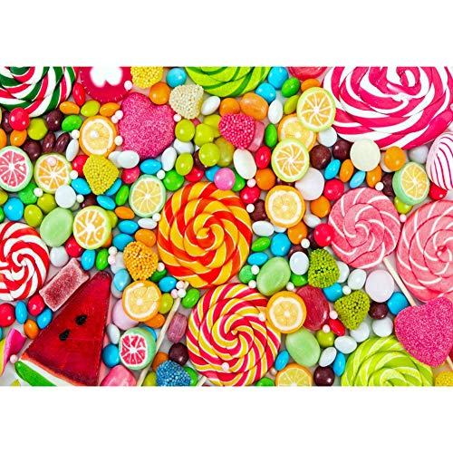 fossetessss 5D DIY Full Drill Diamond Painting Candy Cross Stitch Embroidery Ornaments