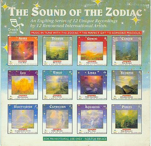 The Sound Of The Zodiac - An Exiting Series Of 12 Unique Recordings by 12 Renowned International Artists [Audio-CD im Pappschuber, ORA 29865, STEREO, ]