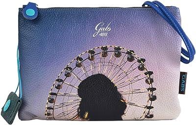 GABS Pochette Beyonce Ruga Medium Panorama Leder Umhängetasche Made in Italy 28 x 21 cm G40T2.X1672.S0483