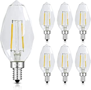 3 x LED e10 Lightbulb Topkerze POINTED CANDLE Replacement Bulb Warm White e1-0 0,2w Bulb