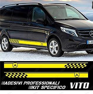 edizione FITS-Mercedes Vito Lato Strisce Decalcomanie Adesivi Set Camper AMG Sport