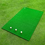 FORB Academy Golf Practice Mat [5ft x 3.2ft] | Professional Hitting Mat – Tees Included