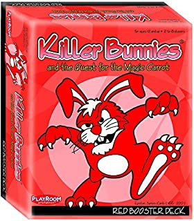 Playroom Entertainment Killer Bunnies Red Booster